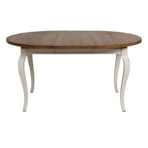 Table ronde extensible en épicéa massif 4 à 8 personnes - Provence - Visuel n°8