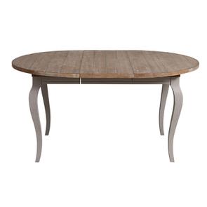 Table ronde extensible en épicéa massif 8 personnes - Provence - Visuel n°2