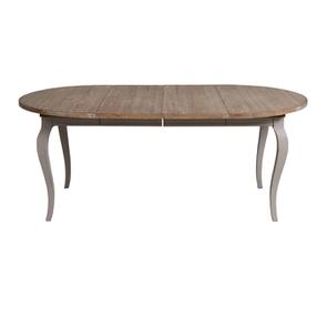 Table ronde extensible en épicéa massif 8 personnes - Provence - Visuel n°3