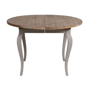 Table ronde extensible en épicéa massif 8 personnes - Provence - Visuel n°6