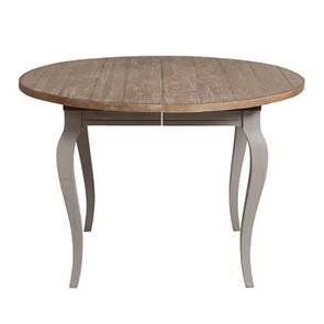 Table ronde extensible en épicéa massif 8 personnes - Provence - Visuel n°8