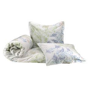 Linge de lit réversible 240x220 avec 2 taies d'oreiller en coton