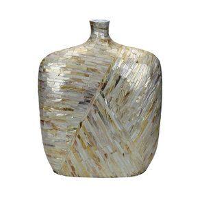 Vase décoratif xl en nacre