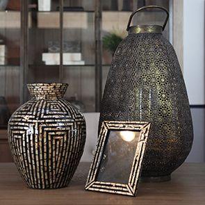 Vase décoratif en nacre