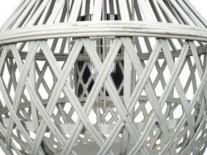 Lanterne blanche en bambou - Visuel n°3