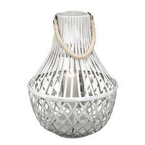 Lanterne blanche en bambou - Visuel n°4