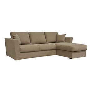 Canapé d'angle 5 places en tissu - Boston - Visuel n°2