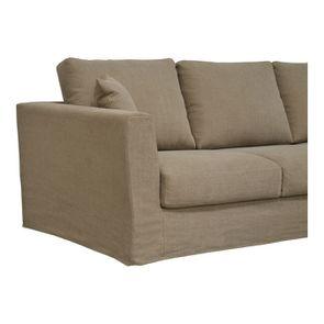 Canapé d'angle 5 places en tissu - Boston - Visuel n°3