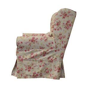 Fauteuil en tissu Tiffany Fleuri - Claridge - Visuel n°3
