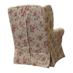 Fauteuil en tissu Tiffany Fleuri - Claridge - Visuel n°5