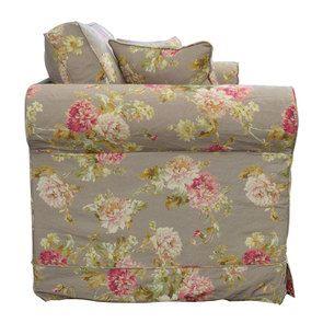 Canapé 2 places en tissu à motif fleuri - Crowson - Visuel n°3