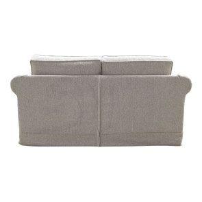 Canapé 2 places en tissu beige clair - Crowson - Visuel n°4