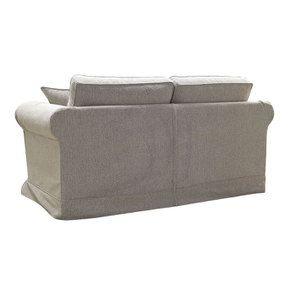 Canapé 2 places en tissu beige clair - Crowson - Visuel n°5