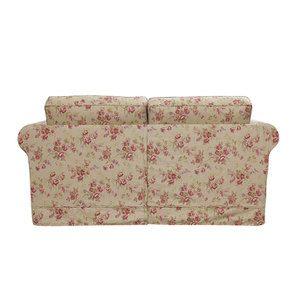 Canapé convertible 2 places en tissu fleuri tiffany - Crowson - Visuel n°8