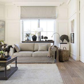 Canapé 3 places en tissu gris - Crowson - Visuel n°5