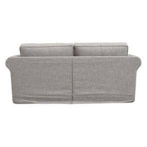 Canapé 3 places en tissu gris - Crowson - Visuel n°6