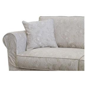 Canapé 3 places en tissu beige à motif - Crowson - Visuel n°6