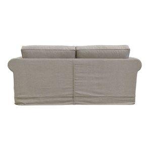 Canapé 3 places en tissu beige - Crowson - Visuel n°3