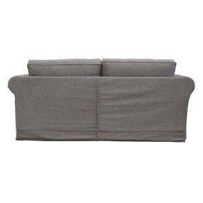 Canapé 3 places en tissu taupe  - Crowson - Visuel n°4