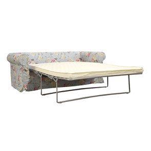 Canapé convertible 3 places en tissu à motif fleuri - Crowson - Visuel n°3