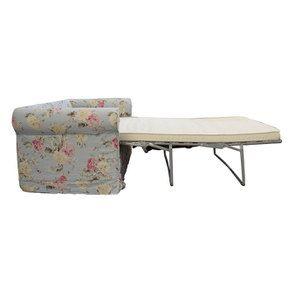 Canapé convertible 3 places en tissu à motif fleuri - Crowson - Visuel n°4