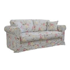 Canapé convertible 3 places en tissu à motif fleuri - Crowson - Visuel n°5