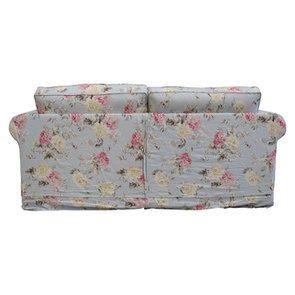 Canapé convertible 3 places en tissu à motif fleuri - Crowson - Visuel n°7