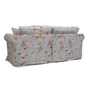 Canapé convertible 3 places en tissu à motif fleuri - Crowson - Visuel n°8