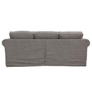 Canapé 4 places en tissu taupe - Crowson - Visuel n°4