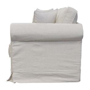 Canapé 4 places en tissu beige - Crowson - Visuel n°3