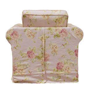 Fauteuil en tissu nancy pink - Crowson - Visuel n°5