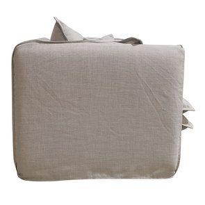Canapé 3 places en tissu écru - Hampton - Visuel n°5