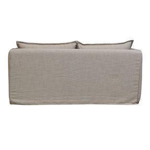 Canapé 3 places en tissu écru - Hampton - Visuel n°6