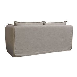 Canapé 3 places en tissu écru - Hampton - Visuel n°7