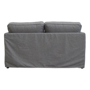 Canapé 2 places en tissu gris anthracite - Welsh - Visuel n°5