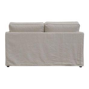 Canapé 2 places en tissu couleur lin naturel  - Welsh - Visuel n°5