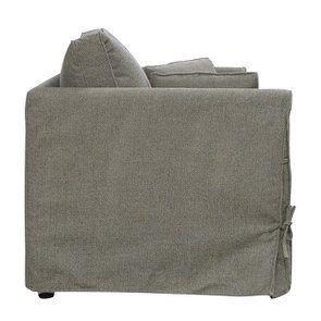 Canapé 2 places en tissu  vert olive - Welsh - Visuel n°4