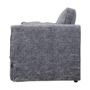 Canapé 2 places en tissu gris - Welsh - Visuel n°5