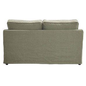 Canapé 2 places en tissu vert kaki - Welsh - Visuel n°4