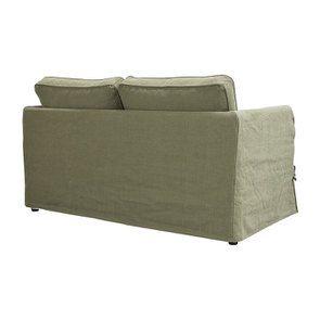 Canapé 2 places en tissu vert kaki - Welsh - Visuel n°5