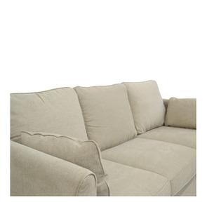 Canapé 4 places en tissu naturel - Welsh