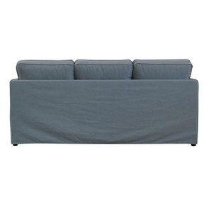 Canapé 4 places en tissu bleu orage - Welsh - Visuel n°4