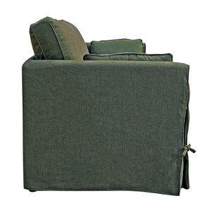 Canapé 4 places en tissu kaki - Welsh - Visuel n°5