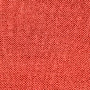 Canapé convertible 4 places rouge en tissu  - Welsh