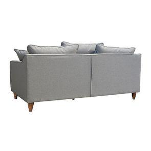 Canapé 4 places en tissu gris clair - Rivoli - Visuel n°9