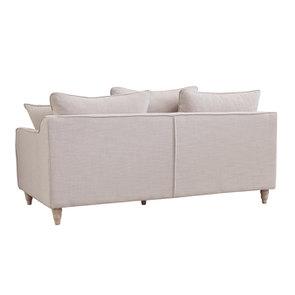 Canapé 4 places en lin écru - Rivoli - Visuel n°11