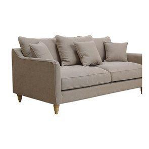 Canapé 4 places en tissu naturel - Rivoli - Visuel n°3