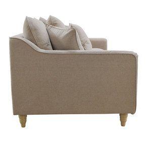 Canapé 4 places en tissu naturel - Rivoli - Visuel n°5