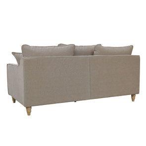 Canapé 4 places en tissu naturel - Rivoli - Visuel n°7