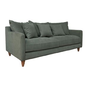 Canapé 4 places en tissu vert - Rivoli - Visuel n°7